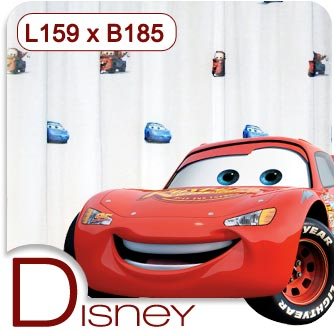 disney cars kinder gardine vorhang deko stoff gardinen f r kinderzimmer neu ebay. Black Bedroom Furniture Sets. Home Design Ideas