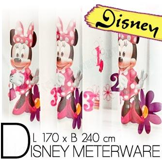 Disney MINNIE MAUS METERWARE Kinder Gardine Deko Stoff nach ...