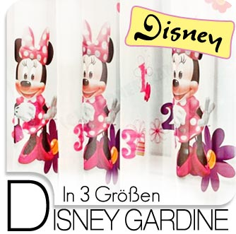 disney minnie maus kinder deko gardine vorhang f r kinderzimmer neu ebay. Black Bedroom Furniture Sets. Home Design Ideas