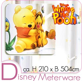 disney winnie pooh meterware kinder gardine deko stoff. Black Bedroom Furniture Sets. Home Design Ideas