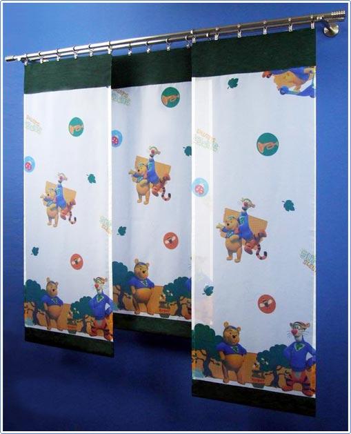 disney fl chenvorhang winnie pooh puuh kinder gardine ebay. Black Bedroom Furniture Sets. Home Design Ideas