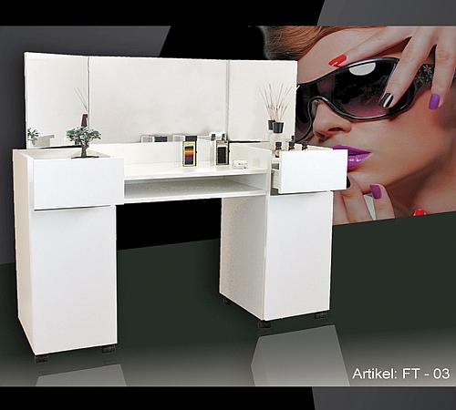 nail design schminktisch frisiertisch make up tisch ft 03 neu ebay. Black Bedroom Furniture Sets. Home Design Ideas
