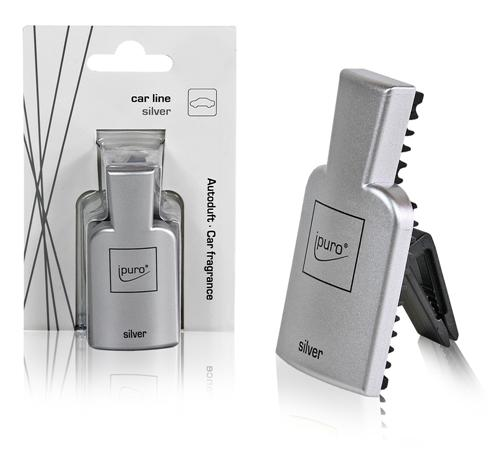 ipuro raumduft autoduft car line silver neu ovp ebay. Black Bedroom Furniture Sets. Home Design Ideas