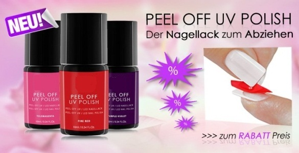 peel off dual coat uv polish f r abziehbaren nagellack 10ml neu ebay. Black Bedroom Furniture Sets. Home Design Ideas
