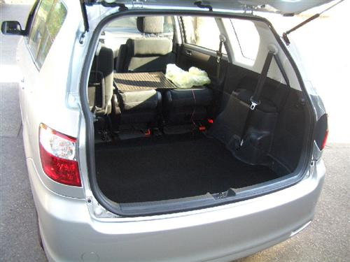 coupe tapis de coffre pour toyota avensis verso ebay. Black Bedroom Furniture Sets. Home Design Ideas