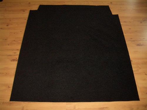 fahrgastraum teppich fu matte automatte hinten f r vw t5. Black Bedroom Furniture Sets. Home Design Ideas