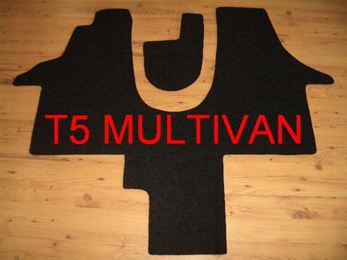 fu matten autoteppich teppich vw t5 multivan startline ebay. Black Bedroom Furniture Sets. Home Design Ideas