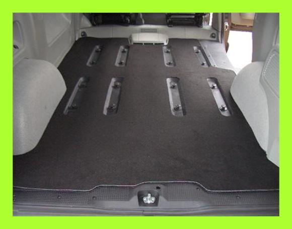 XXL Kofferraummatte Teppich Fußmatten Opel Vivaro Kombi  eBay