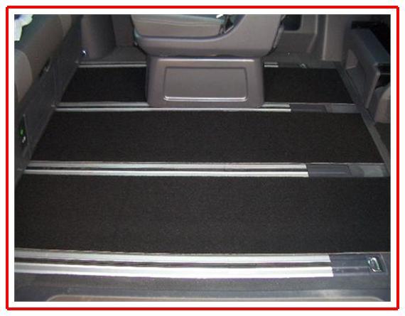 Teppich Fußmatten hinten 3teilig VW T5 Multivan