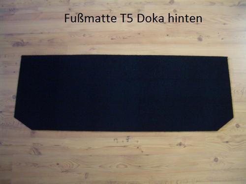 Fußmatten Schmutzfangmatte Teppich VW T5 Bus Doka