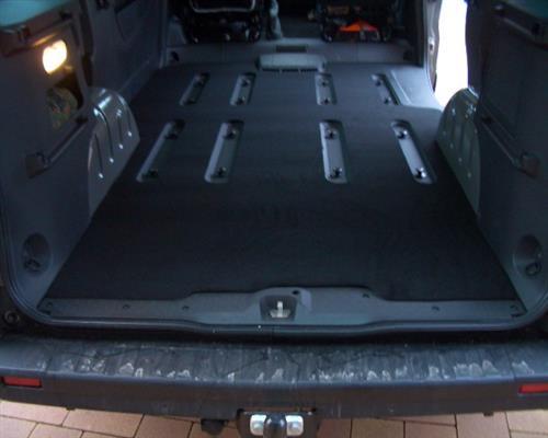 Kofferraummatte Gastraum Teppich Fußmatten Opel Vivaro B