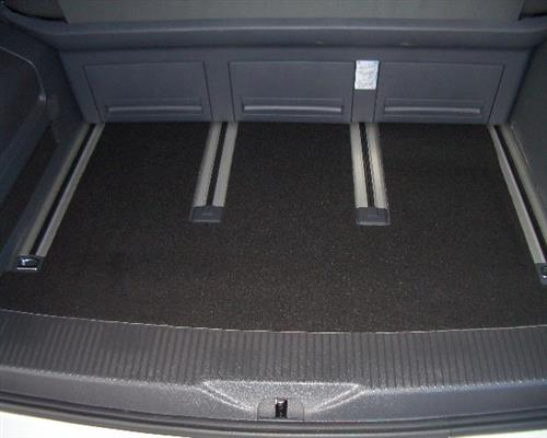 Kofferraummatte Kofferraum Teppich Fußmatte für VW T6 Multivan