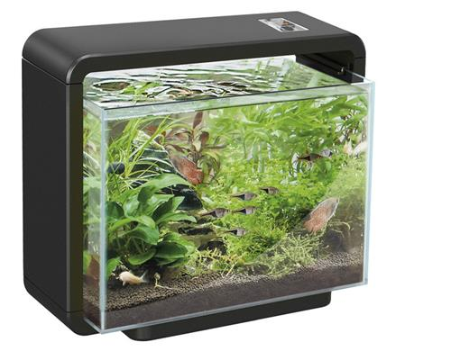 superfish nano home 15 25 und 25xl aquarium inkl filter und led beleuchtung ebay. Black Bedroom Furniture Sets. Home Design Ideas