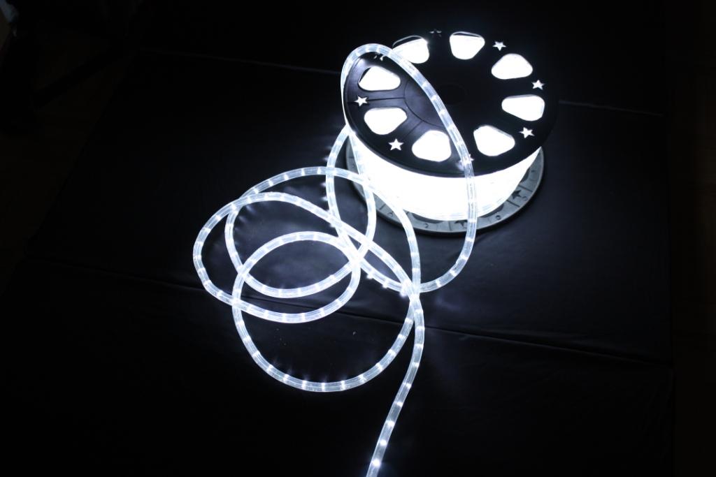 led lichtschlauch 50m lichterschlauch weiss innen au en ebay. Black Bedroom Furniture Sets. Home Design Ideas