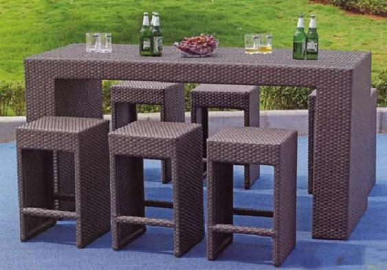 elegante garten stehtisch bar ein party highlight i c s onlineshop. Black Bedroom Furniture Sets. Home Design Ideas