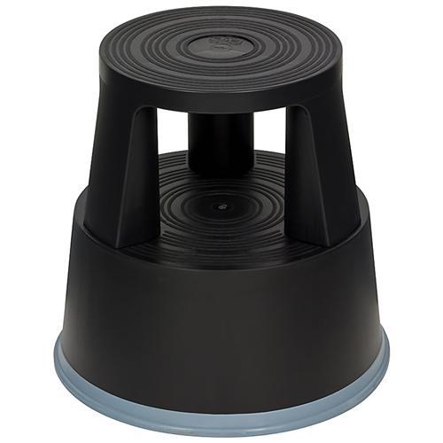 rollhocker elefantenfu tritthockertrittfu weiss schwarz. Black Bedroom Furniture Sets. Home Design Ideas
