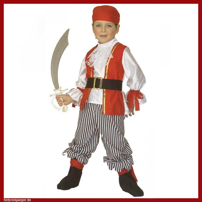 Piraten Kostum Karneval Fasching Kinder Jungen Piratenkostum