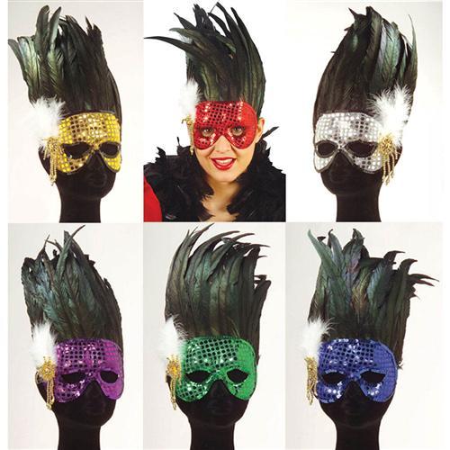 Rote Venezianische Maske Karneval Fasching Venedig Kostum Damen