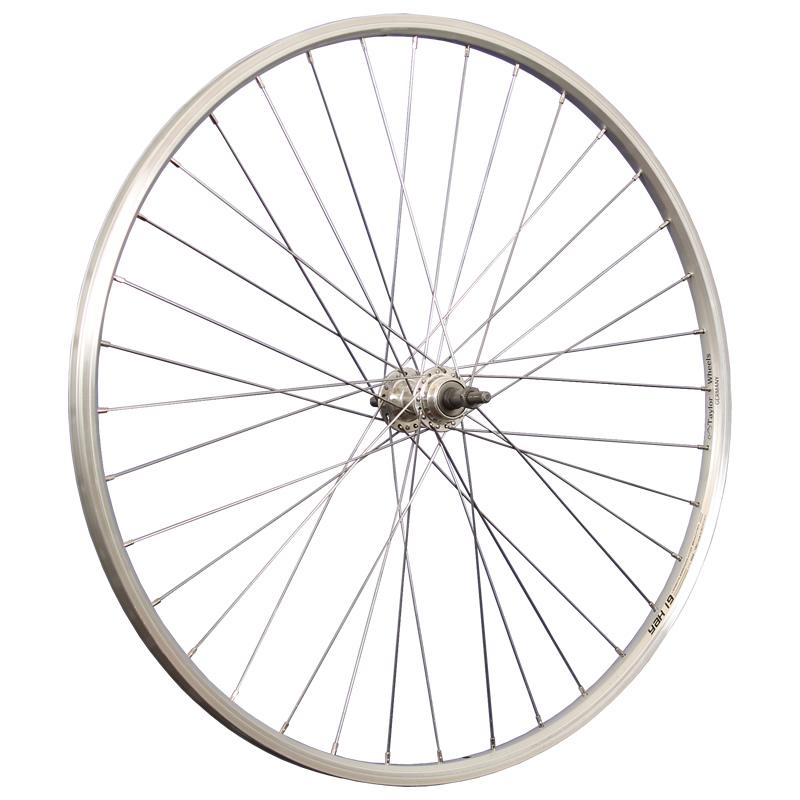 28-Zoll-Fahrrad-Hinterrad-Schuermann-Schraubkranz-5-7-Trekkingrad-Cityrad-Alu