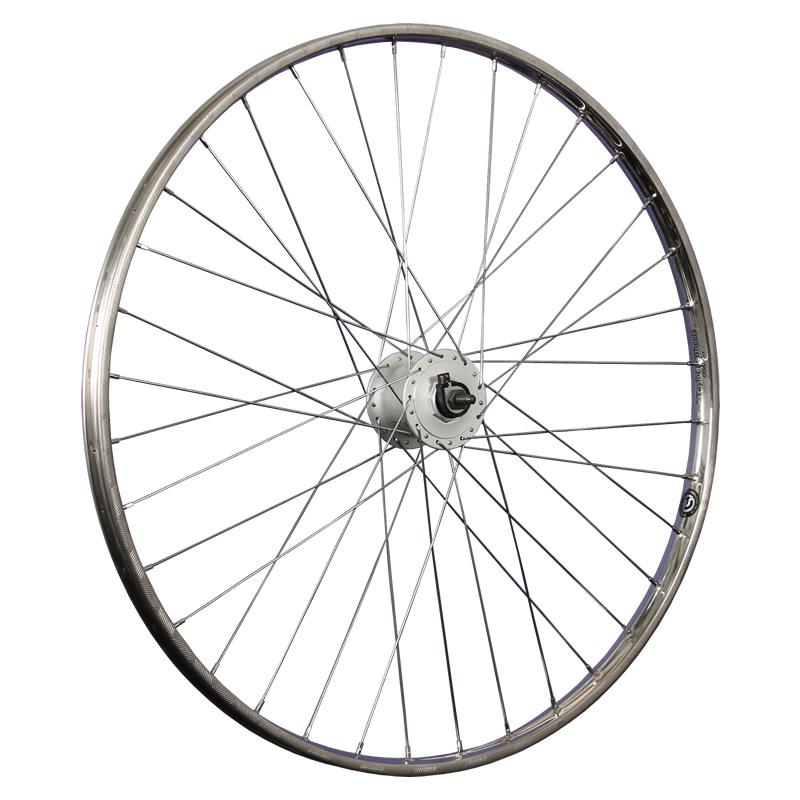 taylor wheels 28inch bike front wheel hub dynamo westwood