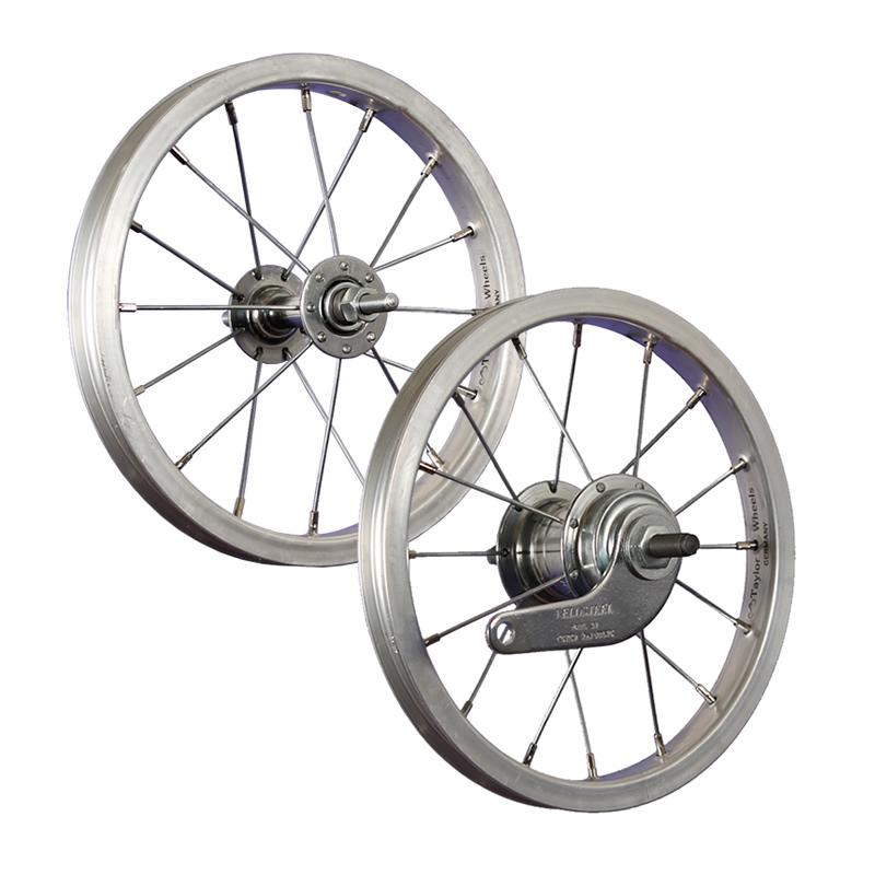 12 zoll fahrrad kinderrad laufradsatz aluminium silber ebay. Black Bedroom Furniture Sets. Home Design Ideas