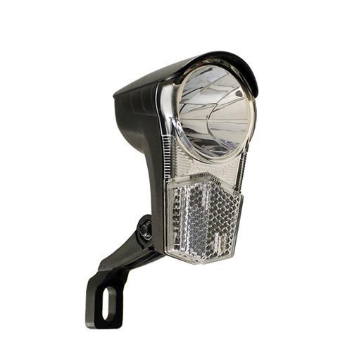 led fahrrad frontscheinwerfer 15 lux 2 4 watt 6 volt f r. Black Bedroom Furniture Sets. Home Design Ideas