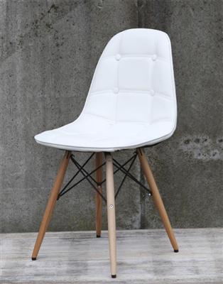 clp design retro stuhl pegleg schalenstuhl sitzh he 46 cm gepolstert sitz kunststoff. Black Bedroom Furniture Sets. Home Design Ideas