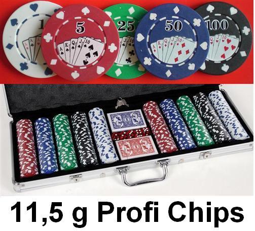 Poker Chip Verteilung