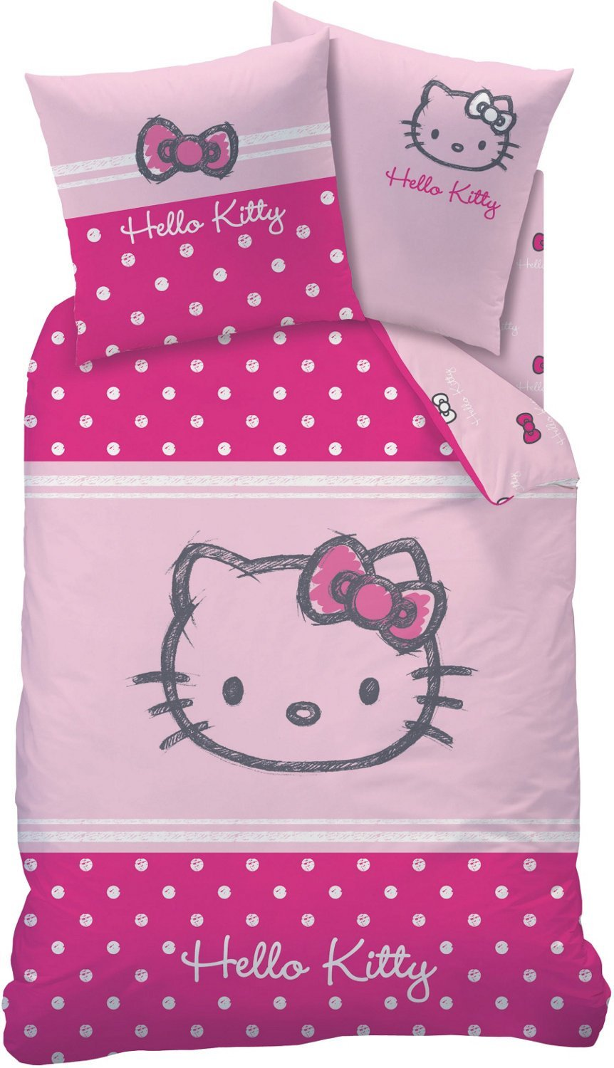 Hello Kitty Bettwäsche Set Auswahlangebot 135 X 200 Biberflanell