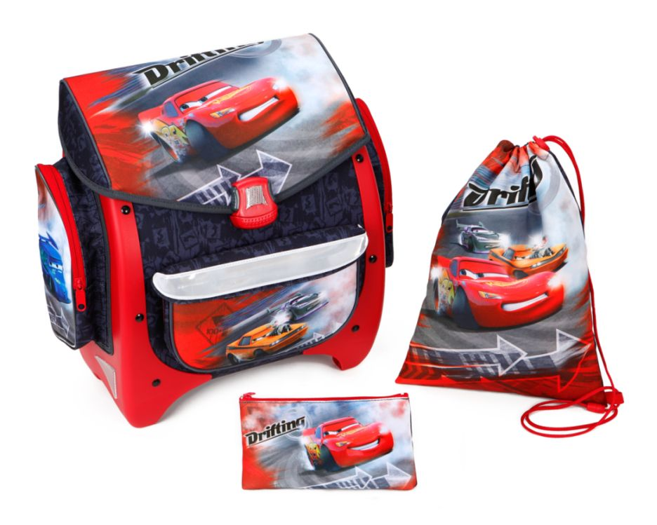 disney cars schulranzen set 3tlg schlamper autos ranzen. Black Bedroom Furniture Sets. Home Design Ideas