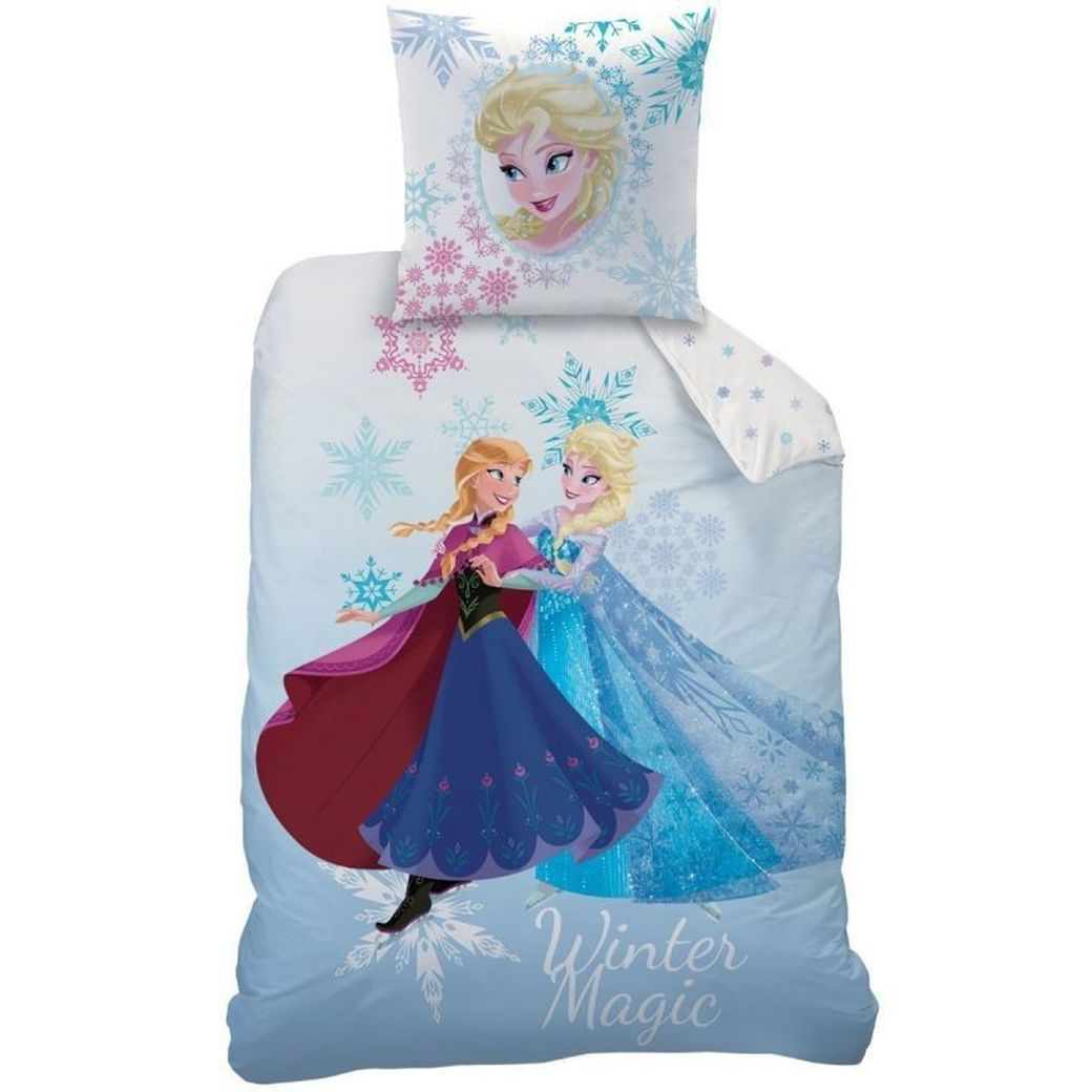 wende bettw sche set disney die eisk nigin 135x200 80x80cm frozen henfenfeld bayern. Black Bedroom Furniture Sets. Home Design Ideas