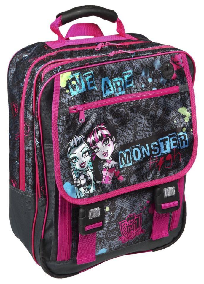 Auswahl-grosser-Schulrucksack-Monster-High-Hello-Kitty-Star-Wars-Ranzen-Rucksack