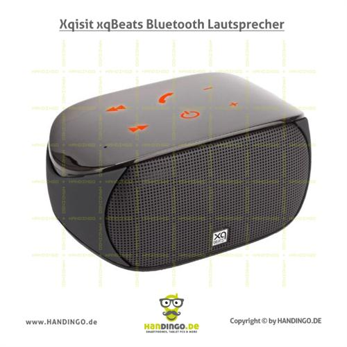 xqbeats bluetooth lautsprecher speaker sound box musik f r pc handy smartphone ebay. Black Bedroom Furniture Sets. Home Design Ideas