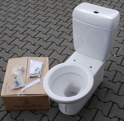 villeroy boch epura tiefsp lklosett stand wc keramik. Black Bedroom Furniture Sets. Home Design Ideas