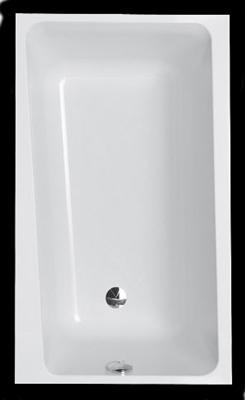 Villeroy boch logic badewanne 170x75 cm stilburg - Villeroy und boch badewanne whirlpool ...