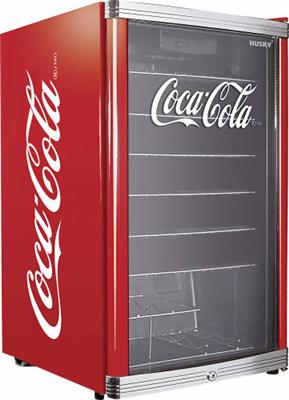 husky high cube k hlschrank coca cola design neu ebay. Black Bedroom Furniture Sets. Home Design Ideas