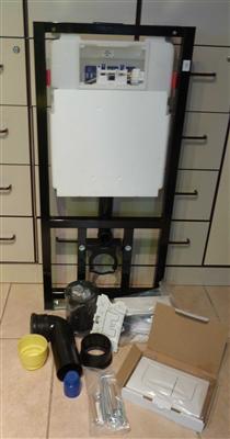 unterputzmodul wc element burda incl dr ckerplatte befestigung 6659 2 ebay. Black Bedroom Furniture Sets. Home Design Ideas