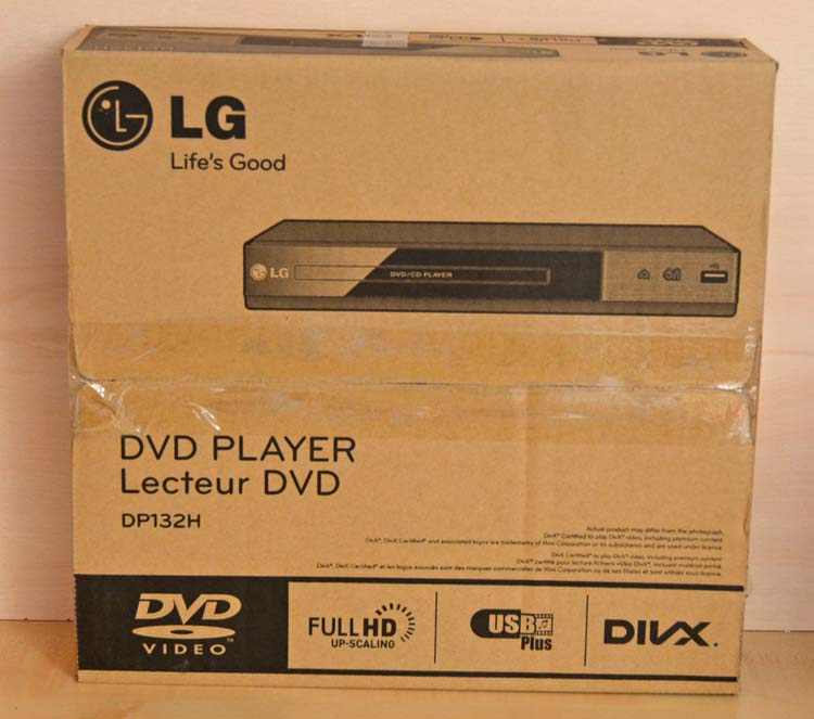 lg dp132h dvd player mit hdmi anschluss schwarz b ware ebay. Black Bedroom Furniture Sets. Home Design Ideas