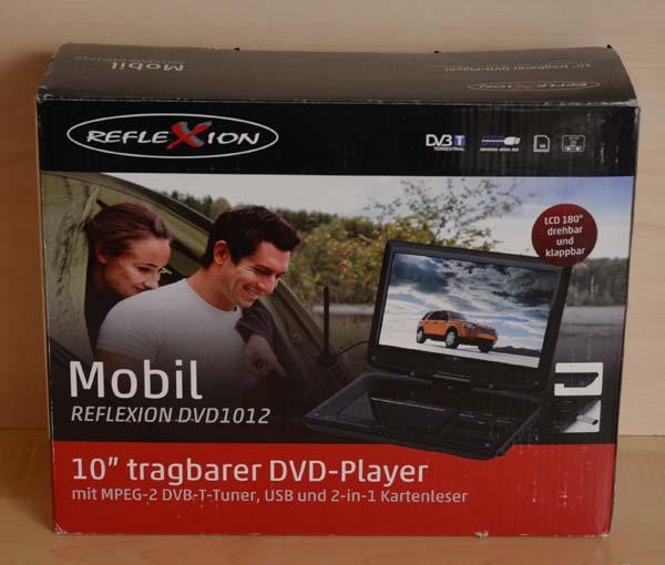 reflexion dvd1012 portabler 25 4 cm 10 zoll lcd bildschirm fernseher 12 v b ware ebay. Black Bedroom Furniture Sets. Home Design Ideas