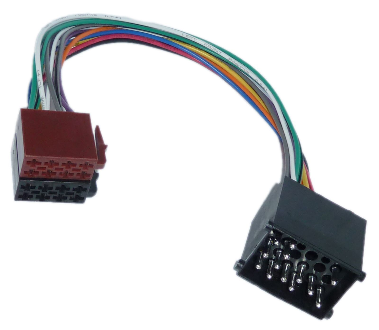 din iso auto radio adapter kabel stecker bmw e30 e31 e32. Black Bedroom Furniture Sets. Home Design Ideas