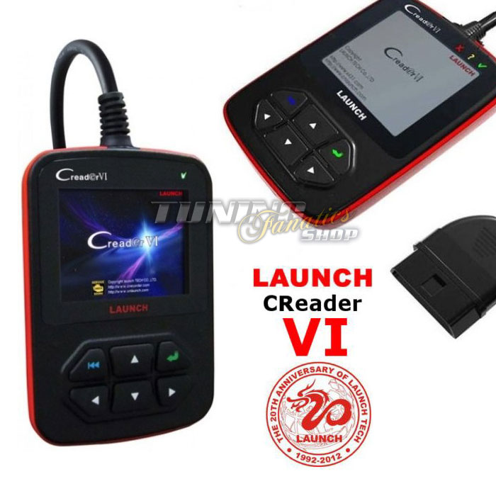 original launch creader vi obd 2 eobd diagnose ger t deutsch f r fiat alfa ford ebay. Black Bedroom Furniture Sets. Home Design Ideas