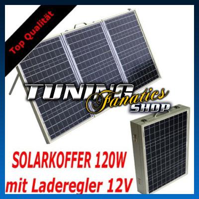 Solarkoffer 120w
