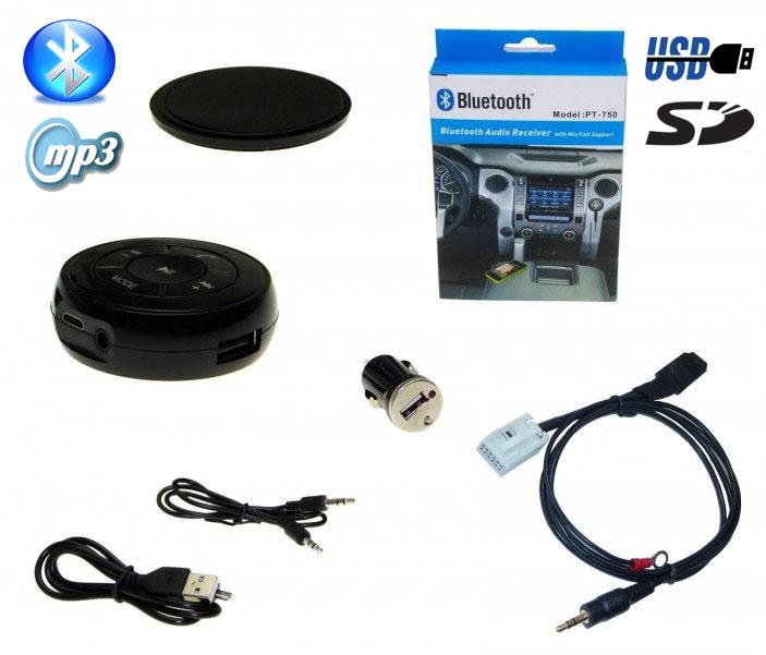 INTERFACE Bluetooth SD USB MP3 FSE Telefon CD 12-Pin VW Radio Premium Delta 6 7