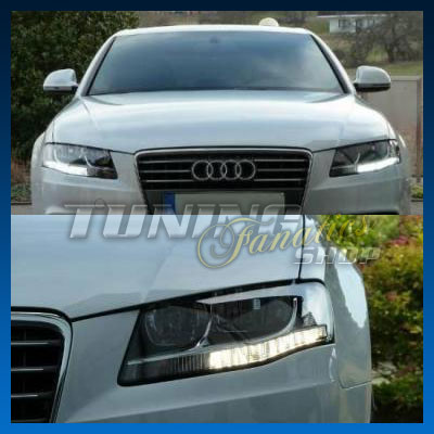 2x smd led tagfahrlicht audi a4 8k b8 avant limosine ebay. Black Bedroom Furniture Sets. Home Design Ideas