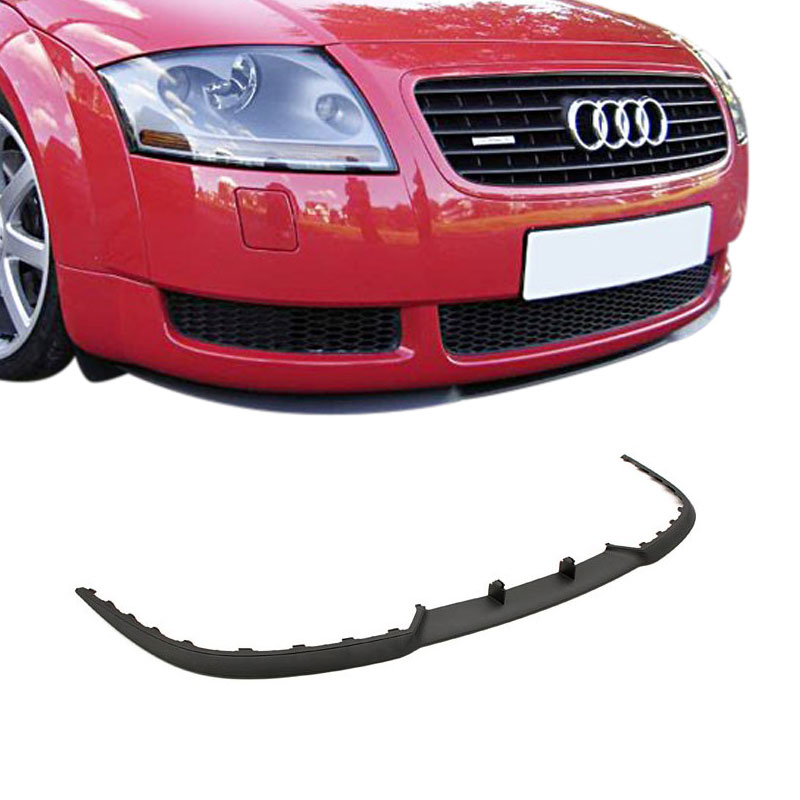 front spoiler spoiler lip cup spoiler lip bumper for audi. Black Bedroom Furniture Sets. Home Design Ideas