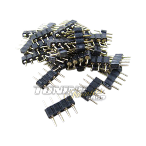 10x rgb strip led smd pcb kabel stecker verbinder connector adapter f r leiste s. Black Bedroom Furniture Sets. Home Design Ideas