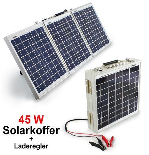 Solarkoffer 45w