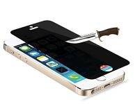 Blickschutz 9H Panzerglas iPhone 5 / 5C / 5S, privacy antispy screenguard