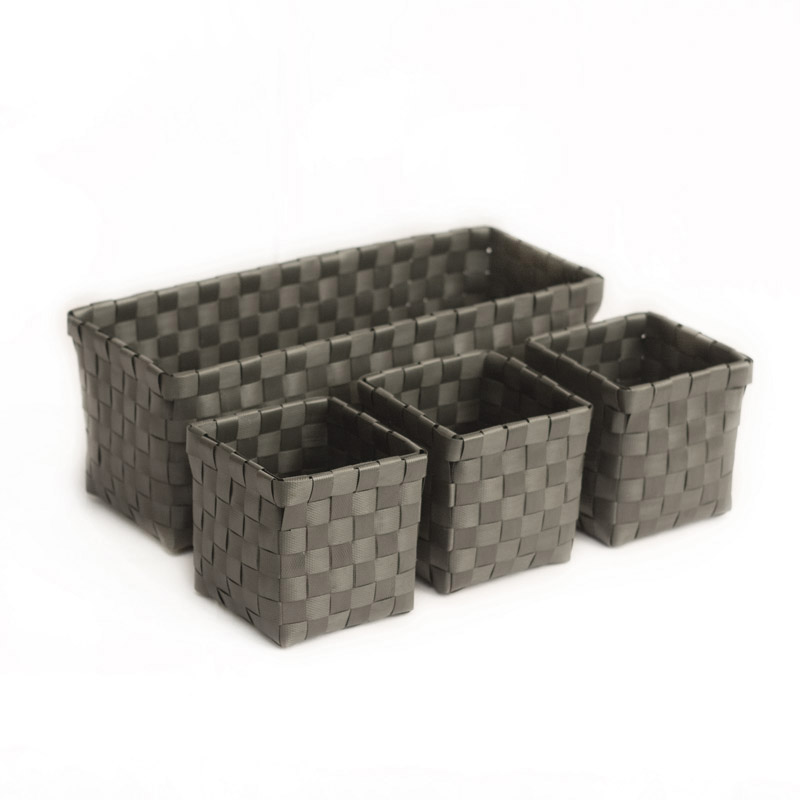 colibries hochwertiger korb box f r aufbewahrung aus 100 recyceltem kunststoff ebay. Black Bedroom Furniture Sets. Home Design Ideas