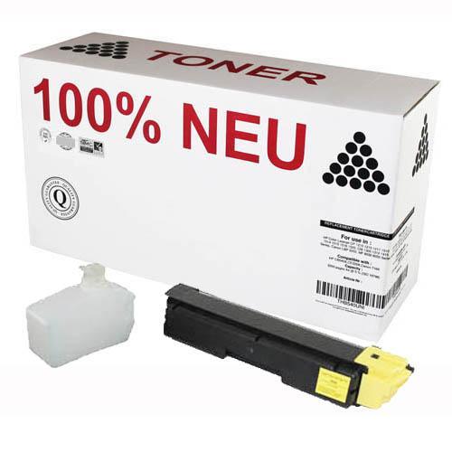 1-6x-Toner-MIT-CHIP-RESTTONERBEHALTER-fuer-Kyocera-FS-C-5100-5150-5200-5250